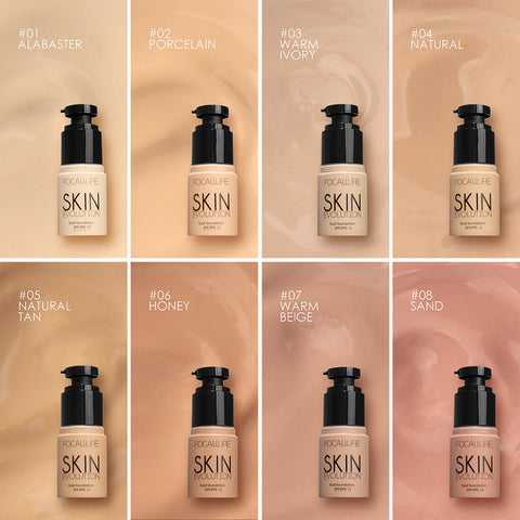FOCALLURE Oil Control Mineral Liquid Foundation SPF 15