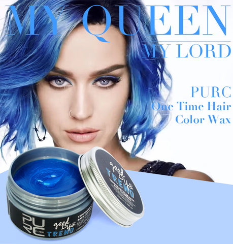Blue Instant Temporary Hair Color