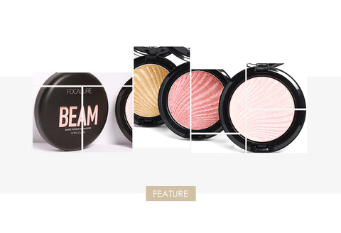 FOCALLURE Ultra Glow Beam Highlighter Mineral Powders