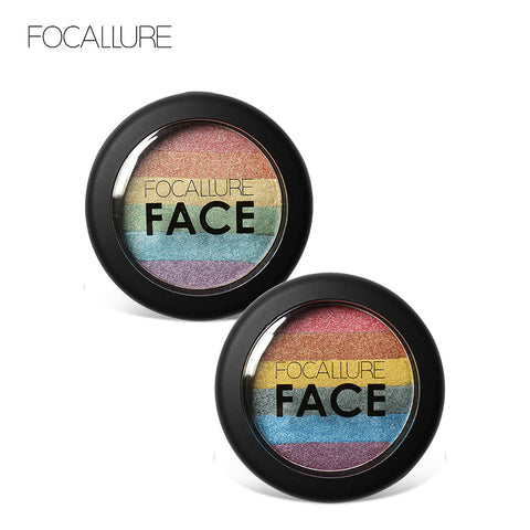 FOCALLURE DIY Rainbow Mineral Contouring Highlighter