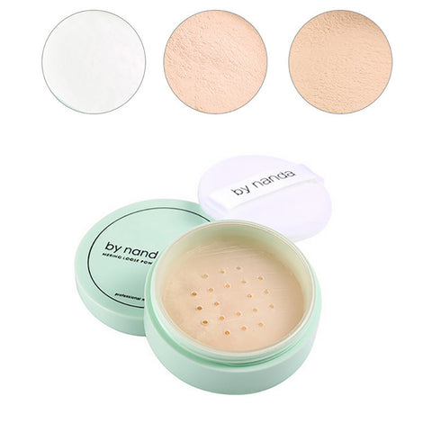 Popfeel Translucent Smooth Loose Powder with Puff
