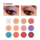FOCALLURE #3 Wonder Eyeshadow Palette