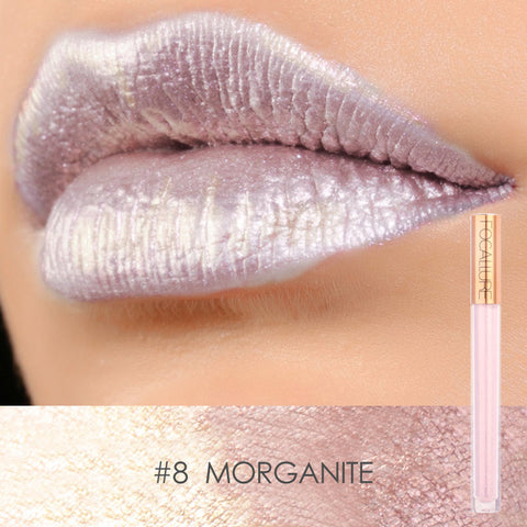 FOCALLURE #8 Morganite Mineral Liquid Lipstick