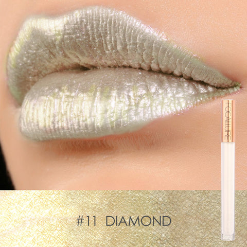 FOCALLURE #11 Diamond Mineral Liquid Lipstick
