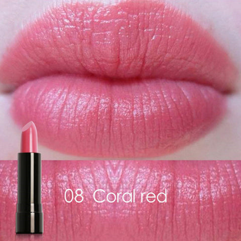 FOCALLURE #08 Coral Red Charming Mineral Lipstick
