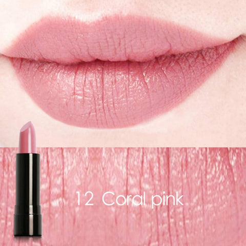 FOCALLURE #12 Coral Pink Charming Mineral Lipstick