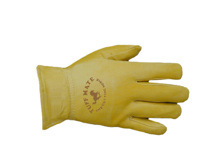 Mens LinedCutting Horse Glove