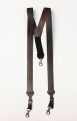 Leather Gallus Suspenders
