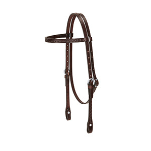 Trailhead Tooled Browband Head