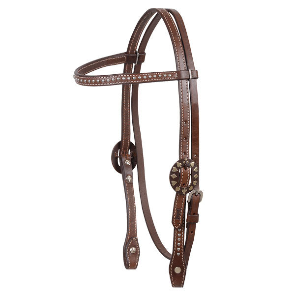 Dotted Browband Headstall