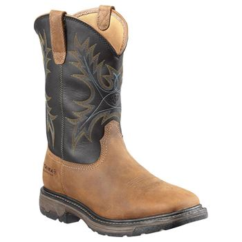 Workhog Wide Sq Toe H2O Boot