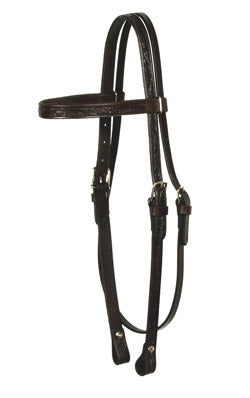 "5/8"" Browband Headstall-Floral"