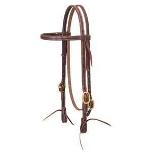 Working Cowboy Brow Headstall