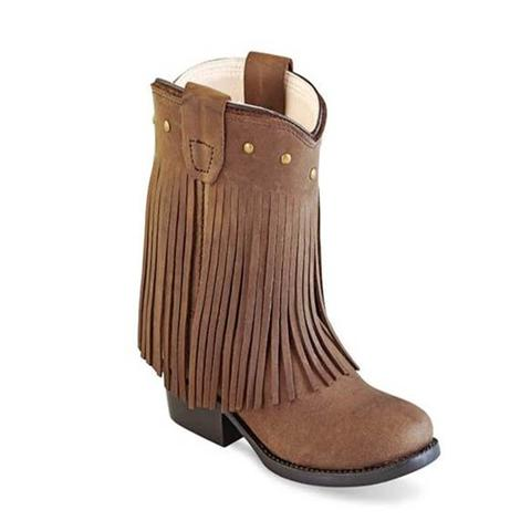 Chocolate Nubuck Boot