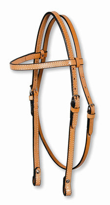 "5/8"" Browband Headstall-Double"