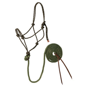Diamond Rope Halter and Lead