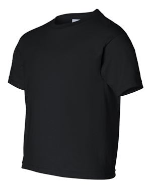 Gildan Black Youth Shirts