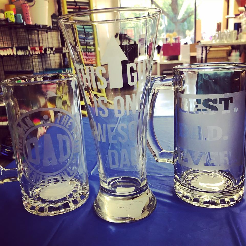 Father's Day Beer Mug Etching Kit