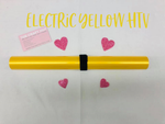 Electric Yellow HTV