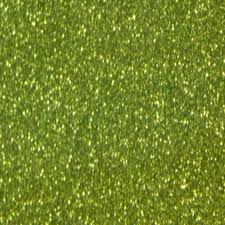 Light Green Glitter HTV