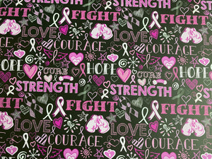 Strength Courage Fight HTV
