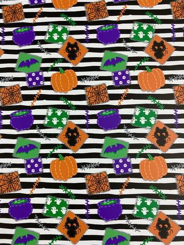 Halloween Stripes HTV