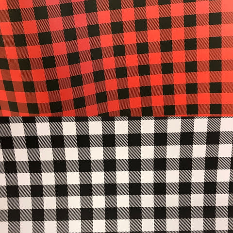 Buffalo Plaid HTV