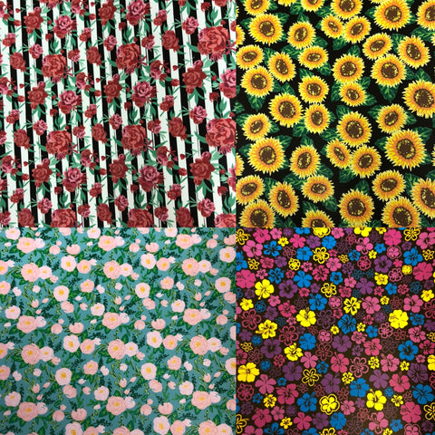 Flower Patterns HTV