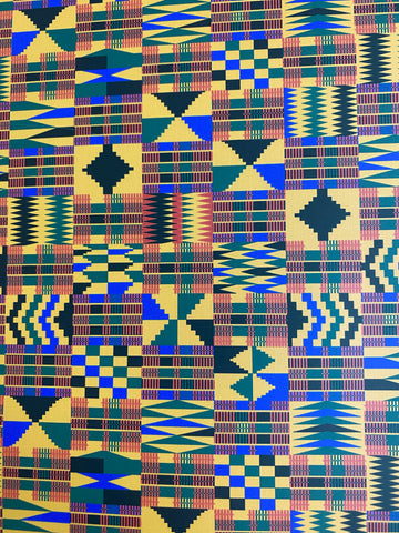 Kente Cloth HTV