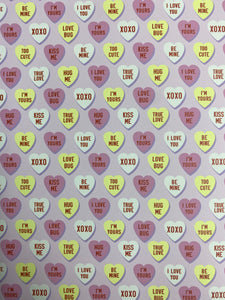 Be Mine Pattern HTV