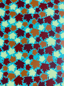 Leaves Pattern HTV
