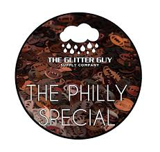 Philly Special Football Glitter Shapes