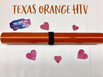 Texas Orange HTV