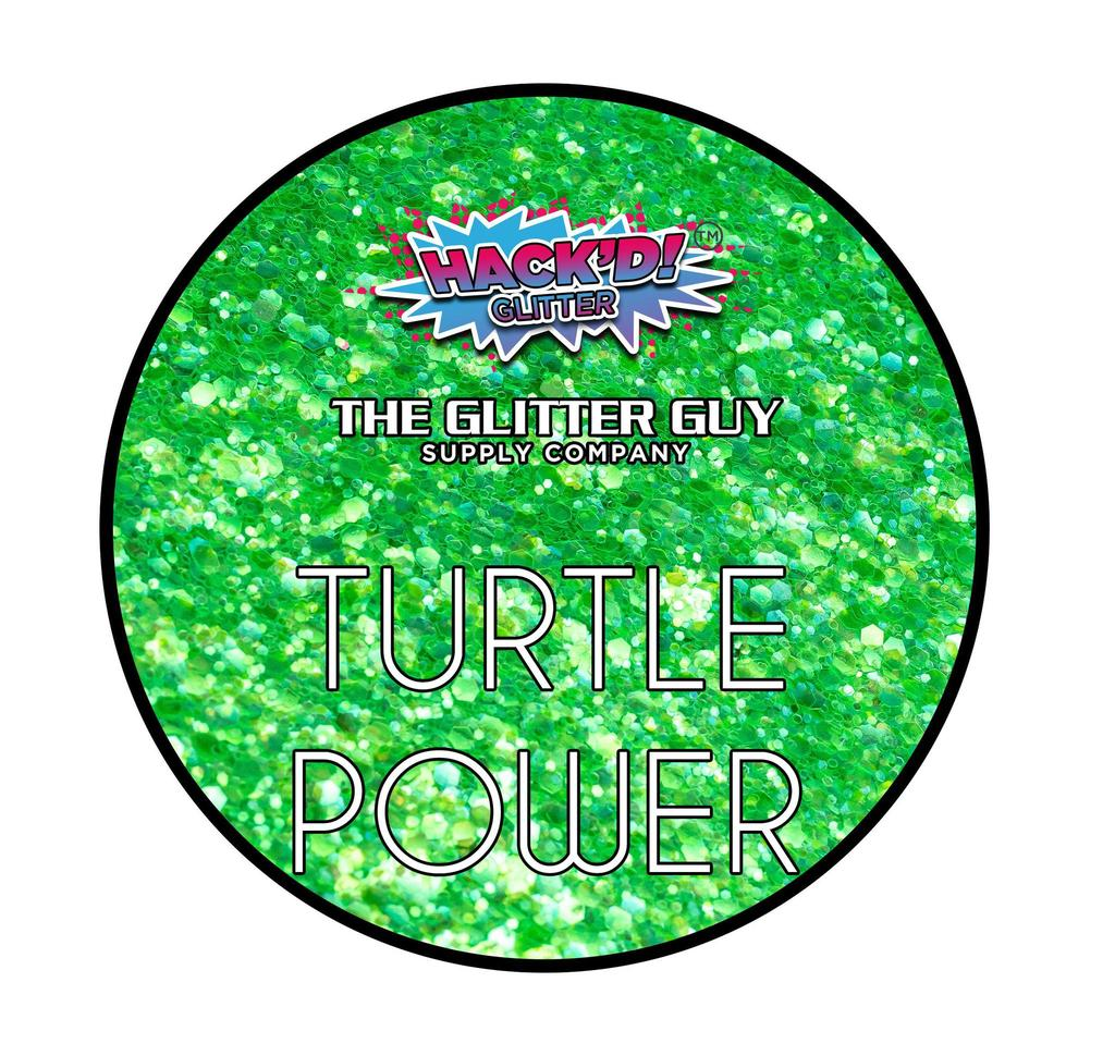 Turtle Power Glitter