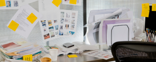 declutter your office space