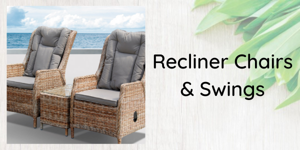 recliner outdoor chair reclining outdoor swing chair