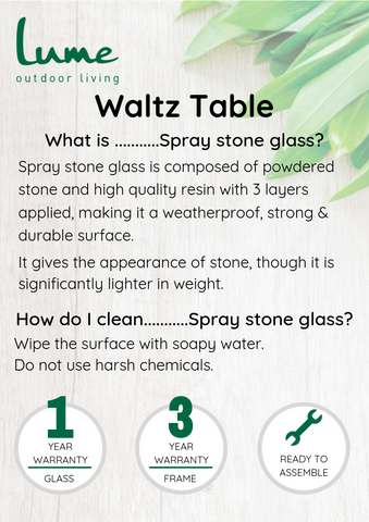 waltz spray stone