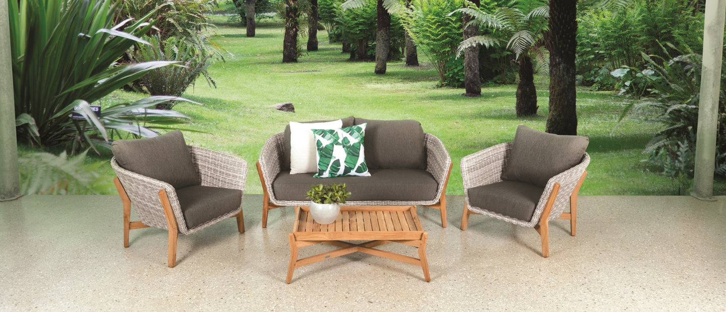 Our collection has been crafted with a variety of quality outdoor materials proven to withstand the harsh australian climate