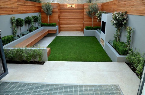 pinterest small backyard