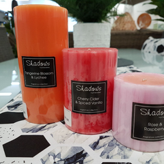 Lume outdoor living has a wide range of candles