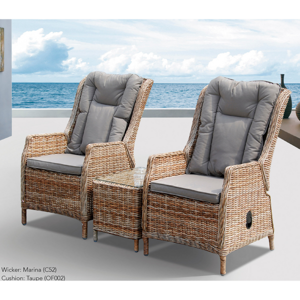 Hawaii 3pce Recliner Set