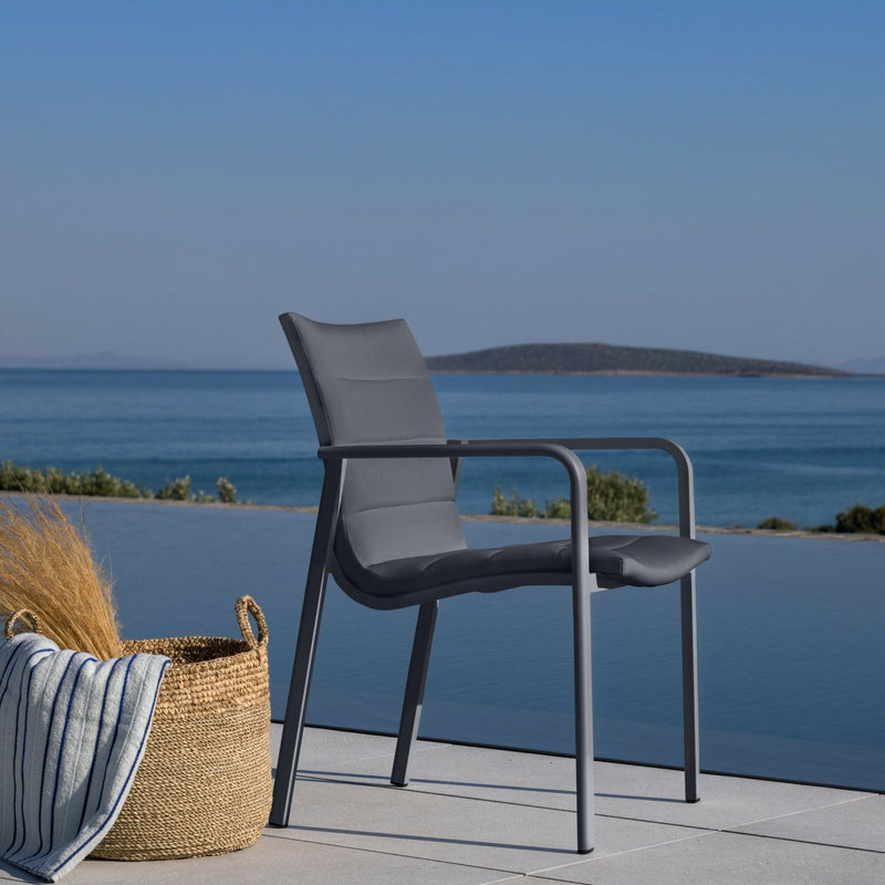 cassis chair charcoal