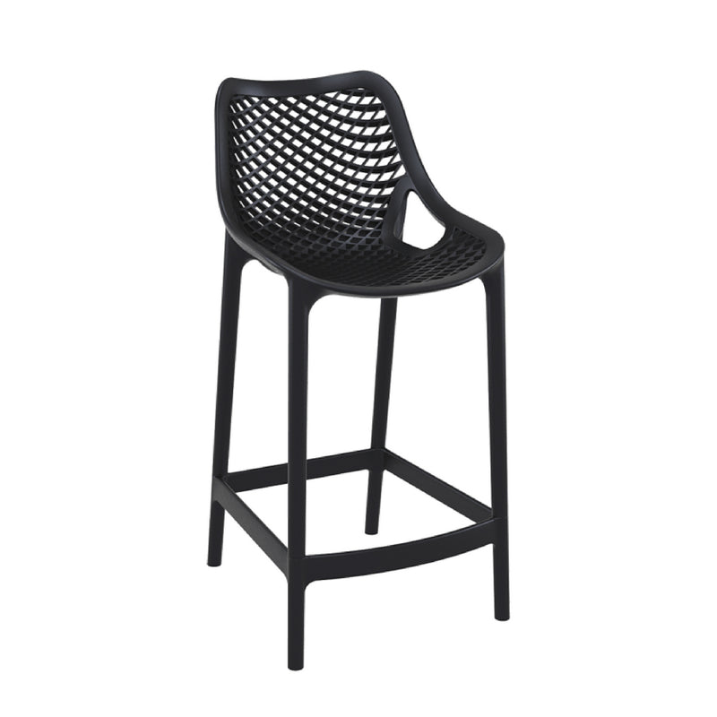 air barstool black