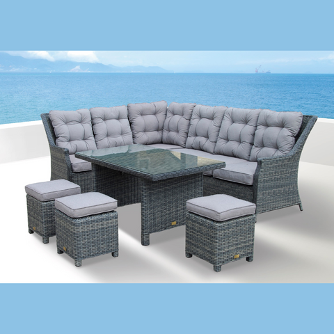 Tamworth Corner Casual Dining Set