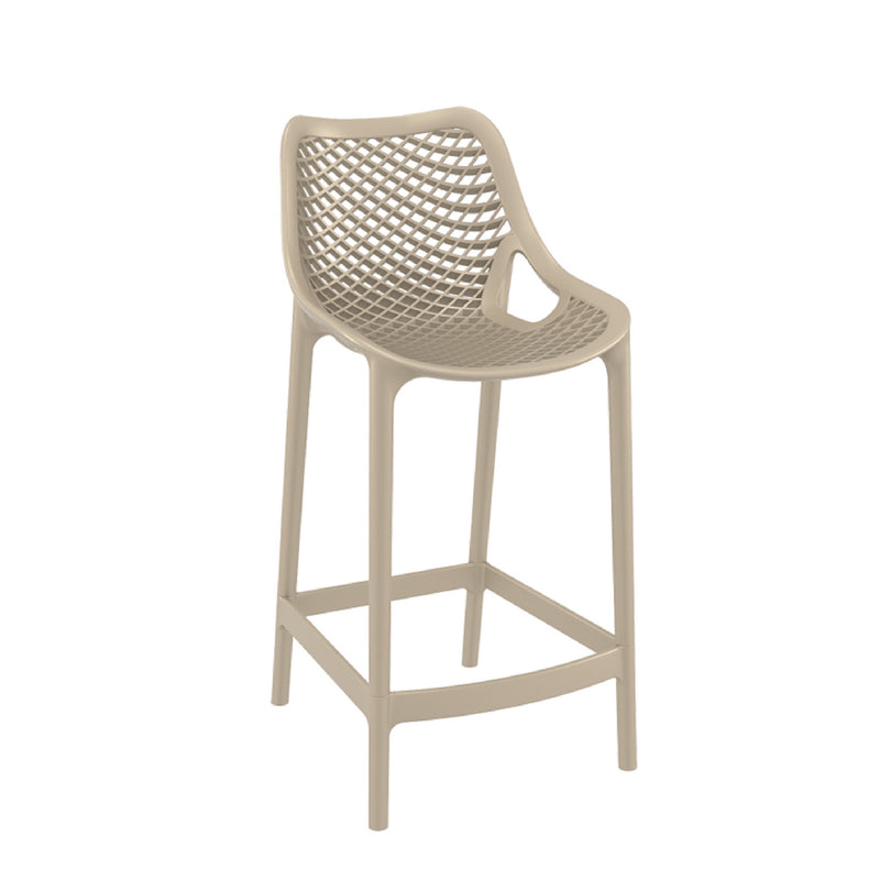 air barstool taupe