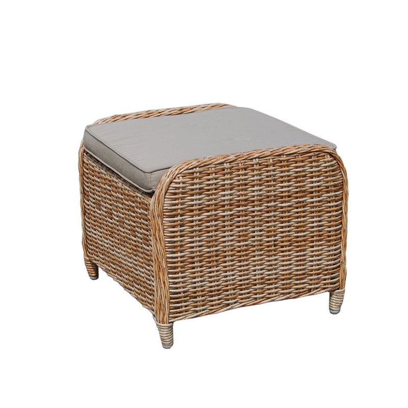 Eldorado Wicker Footstool