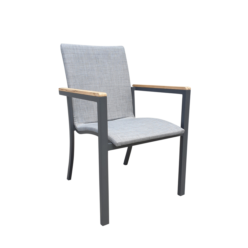 martini dining chair charcoal