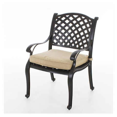 Nassau Cast Aluminium Dining Chair