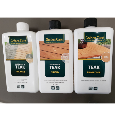 Golden Care Teak Maintenance Package