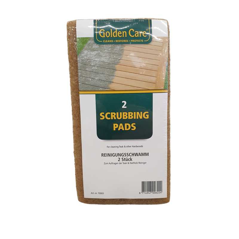 GC brown scrubbing pads